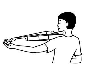violon trop grand