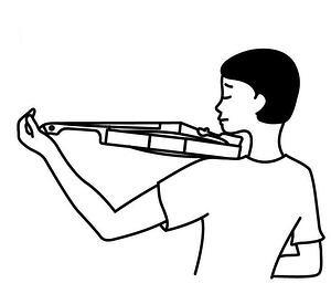 violon trop petit